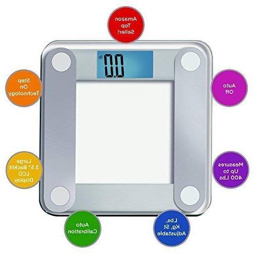 EatSmart Scale Lighted Display, Tape Measure