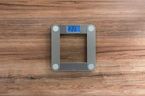 EatSmart Precision Digital Scale with Large Lighted Display, Tape
