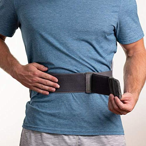 Pure Enrichment - 4 Heat Adjustable Belt, Hot/Cold and Storage Ideal Back and Abdominal
