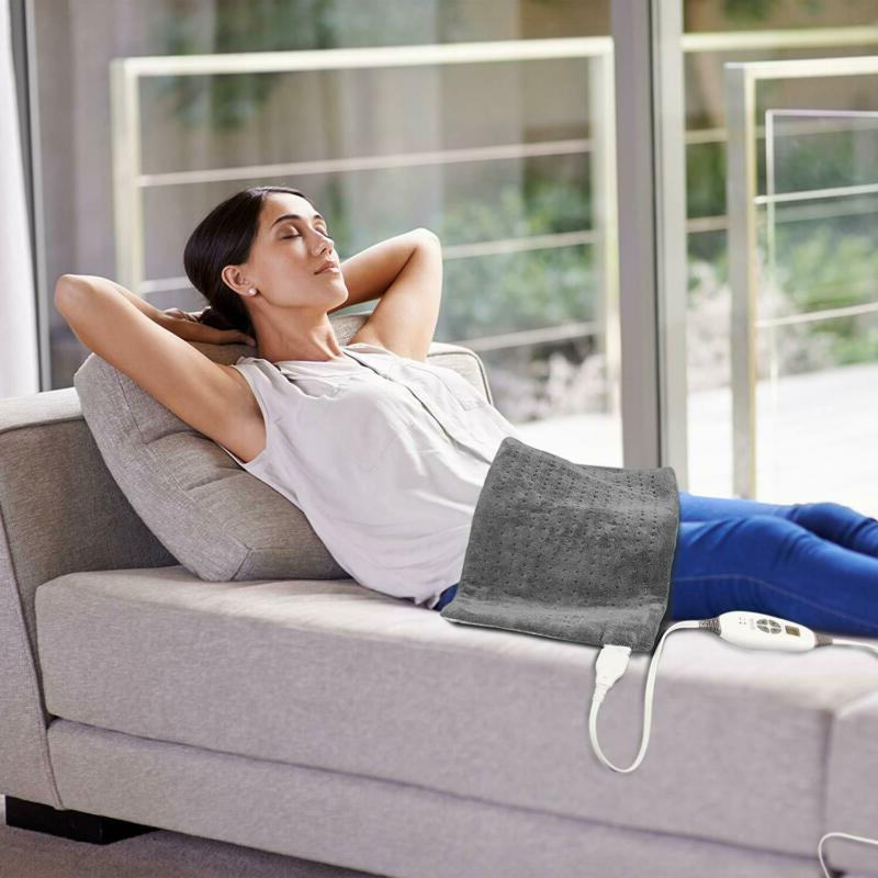 PureRelief XL Heating Pad Fast-Heating