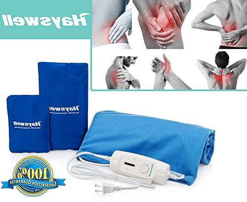 Rapid Pad pack cold Great heating pads back pain & pad for cramps. Moist pad auto off. pad & FDA approved