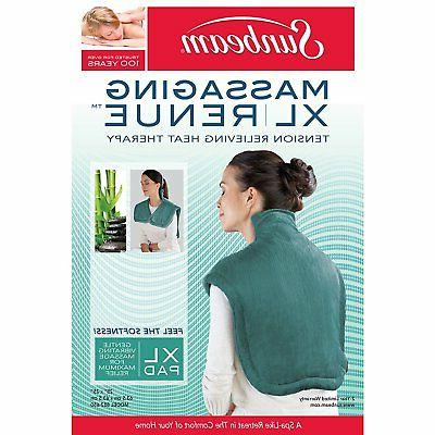 Sunbeam Renue Tension Relief Therapy Wrap, Moist/Dry 4 x
