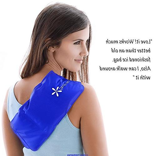 Pain Flexible Pack TheraPAQ | Cold Pack/Heat - for Waist, Shoulder, Neck, Ankle, Knee and Hip