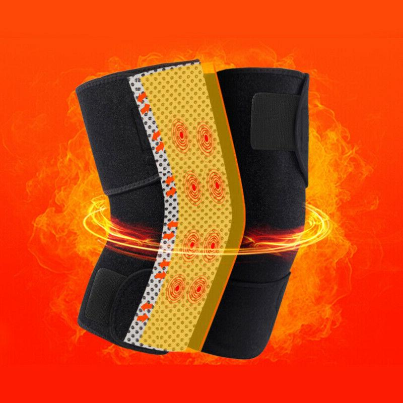 Self Heating Knee Pad Therapy Support Belt US