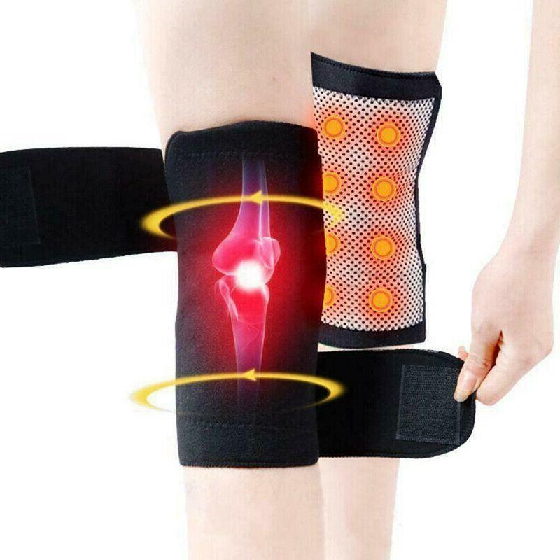 Self Knee Pad Magnetic Support Belt US