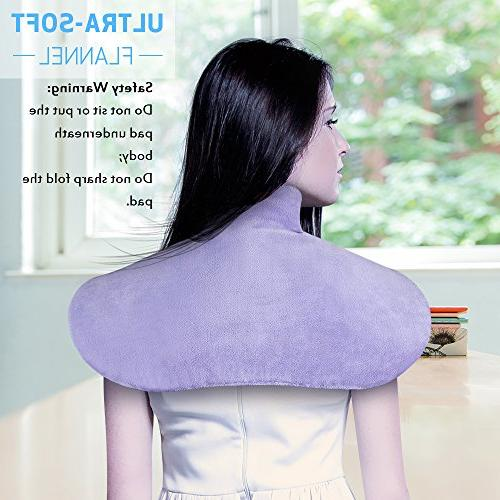 "Shoulder X 25"" Heat Therapy Wrap for Adbominal, Foot, Waist, Dry/Moist Heating Pad with Auto by"