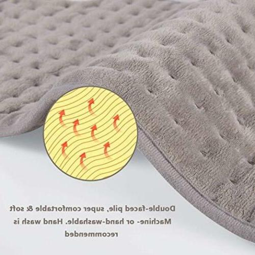 Super Electric Pad Neck Heat Health Heating Timer