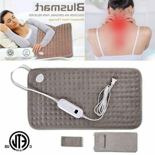 super soft electric heating pad usb neck