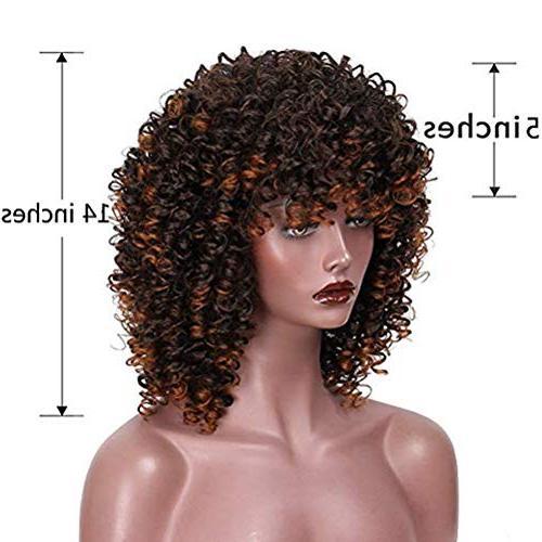 YAXAN Hair Wigs Black Woman Jet Fiber