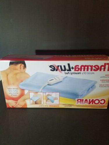 therma luxe moist dry heating pad standard