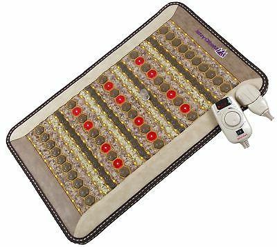 ThermoGem FIR Mini Mat - Jade Tourmaline Amethyst - 20x32 In