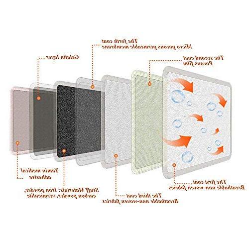 FRESH Toe Individual Heating Pads - Air Activated Safe Natural Odorless Disposable Pairs