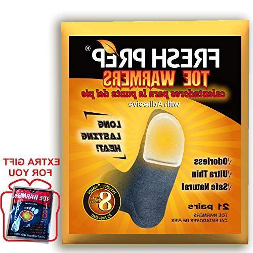 toe warmers individual packs heating pads air