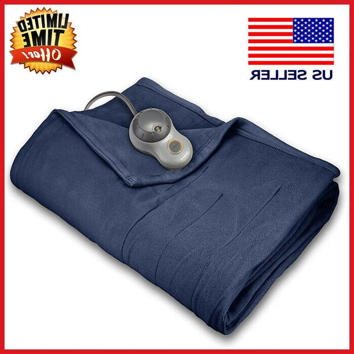twin size electric heated blanket by 10