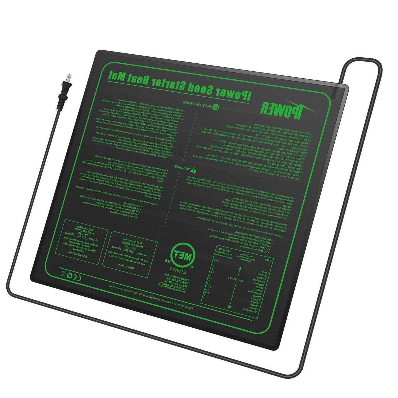 iPower UL Certified Heat Mat Warm Heating Pad Standard