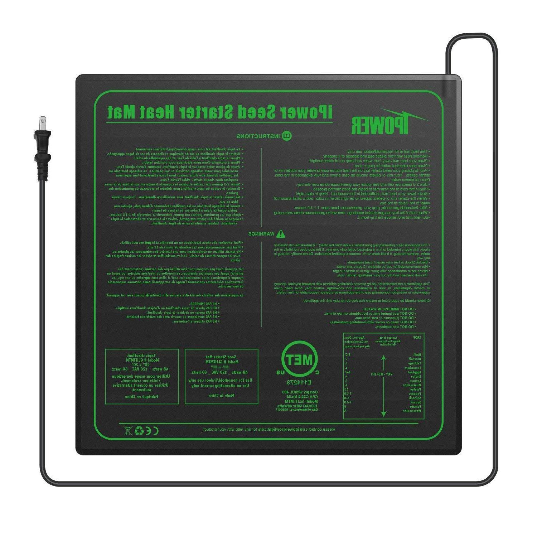 iPower UL Seedling Heat Heating Pad