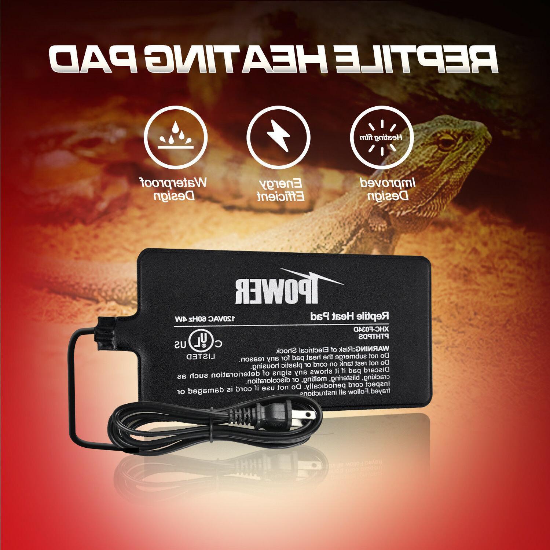 ul certified terrarium heater warmer waterproof reptile