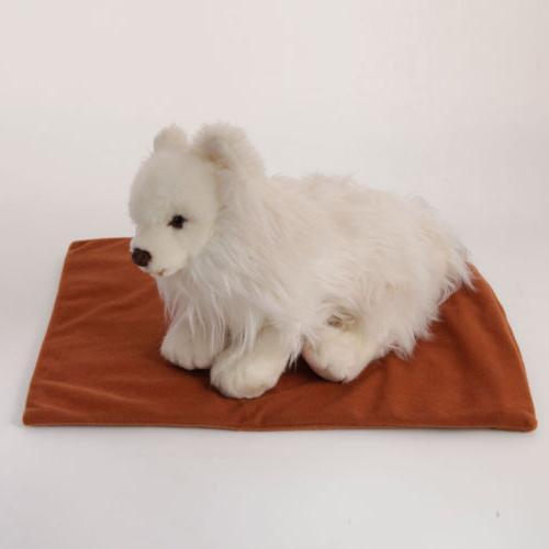 US Pet Pad Heater Mat Warming Blanket Cat Warmer Bed