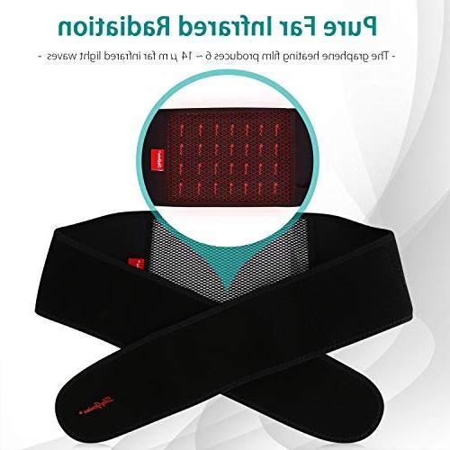 USB Powered Portable Waist Pad Heating Settings, Back Stomach