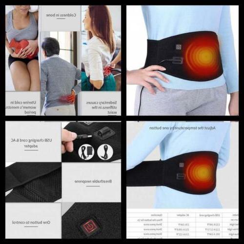 waist heating belt pad