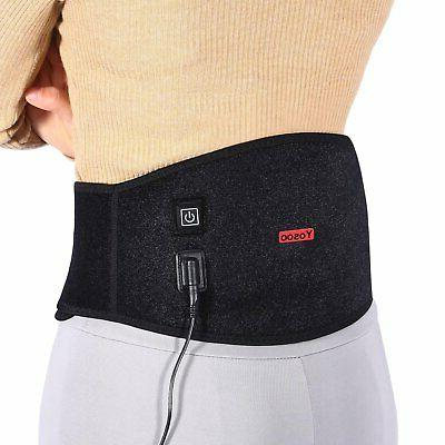 USB Lumbar Support Therapy Black