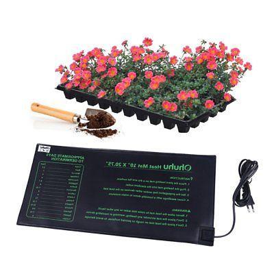 "Waterproof Seedling Heat Mat Hydroponic Pad Germination 10x 20.75"""