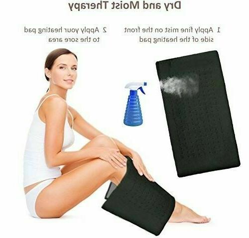 XL Heating Pad Electric Heating Moist and Dry Therapy
