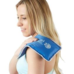 Large Cold Hot Therapy Pad Heat Reusable Neck Ice Pack Pain