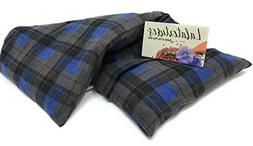 "Lavender, Large Microwavable Flax Heating Pad, The ""Flax Sak"