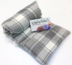 """Lavender Scented Large Microwavable Heating Pad, The """"Flax S"""