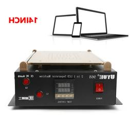 LCD Screen Separator Heating Hot Plate Removal Repair Machin