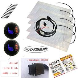 LED1 side 3 point circular 3 gear switch Built-in Carbon fib