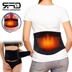 Lower Back Support Belt Lumbar Pain Herniated Disc Strain Sc