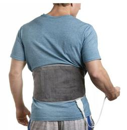 Lumbar and Back Heating Pad - Flexible Warming Wrap for Pain