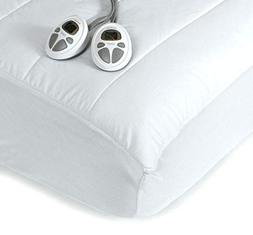 Sunbeam Premium Luxury Quilted Heated Electric Mattress Pad