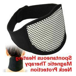 Magnetic Therapy Neck Pad Self Warp Brace Heating Headache B
