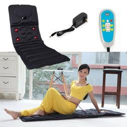 Massage Mattress Bed Cushion Full Body Electric Vibrating Ma