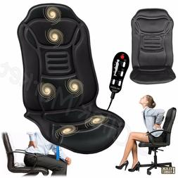6 Motor Massage Car Seat Cushion Back Relief Chair Pad Heate