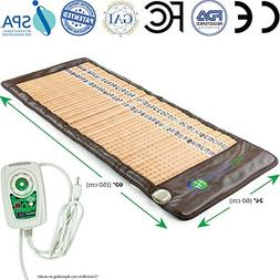 HL HEALTHYLINE - Infrared Heating Mat - 3-in-1 Therapy - 60i