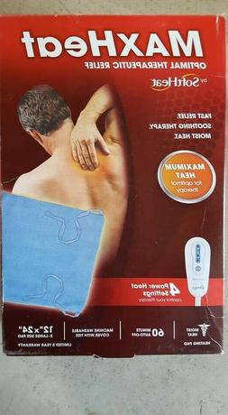 * MaxHeat Heating Pad by SoftHeat Optimal Therapeutic Relief