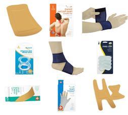 Medical First Aid Wrist Bandages Heel Pads Knee Strip Elbow