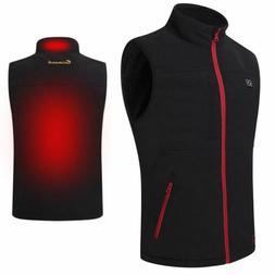 men s heating vest coat usb electric
