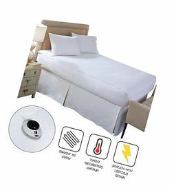 Soft Heat Micro-Plush Top Low-Voltage Electric Heated Califo