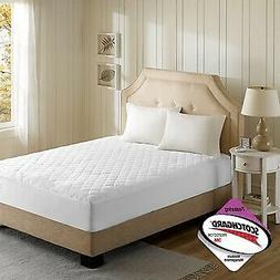 Beautyrest - 3M Scotchgard Heated Mattress Pad Full Size -Se
