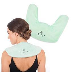 Microwavable Heating Pad for Neck and Shoulders - Soothing A