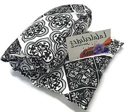The Flax Sak®, Lavender Scented Microwave Heating Pad. Hot/