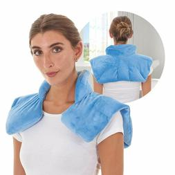 Microwavable Heating Pad For Neck & Shoulders - Weighted Hot
