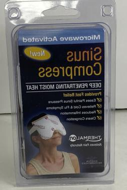 Thermalon Microwave Activated Moist Heat-Cold Sinus Mask for