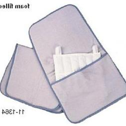 Relief Pak moist heat pack cover, velour with foam, neck