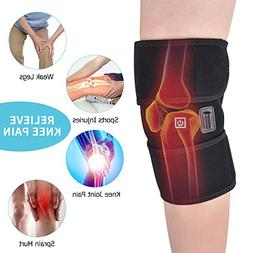 MS.DEAR Knee Heating Wrap, Knee Support for Arthritis, Heate